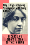 Why Is High-Achieving Synonomous with Being Gifted